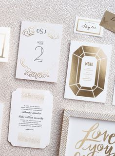 Table numbers and decor: http://www.stylemepretty.com/2015/04/13/pretty-picks-minteds-tabletop-for-weddings-a-giveaway/