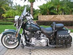 Photo of 2000 Harley Davidson Springer Softail FLSTS Motorbike. #harleydavidsonroadkingbobber