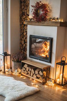 Home Fireplace, Fireplace Design, Home Living Room, Living Room Decor, Living Room Tv Unit Designs, Sweet Home, Living Room Inspiration, Interior Decorating, Home Interior Design
