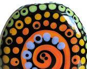 Zuma Blooms Focal--Handmade Lampwork Glass Bead