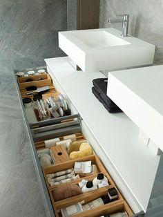 mobalpa salle de bain, aménagement salle de bain pas cher mais moderne