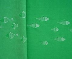 Green Wool Fish