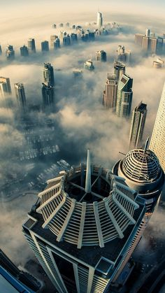 Dubai Cloud City Landscapes - The iPhone Wallpapers City Iphone Wallpaper, New Live Wallpaper, Cloud Wallpaper, Live Wallpapers, Nature Wallpaper, Wallpaper Backgrounds, Iphone Wallpapers, Wallpaper App, Wallpaper Size