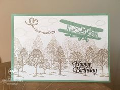 Sky is the limit Inspiring Inkin Stampin' Up! UK
