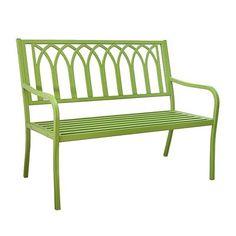 Innova S548-2 Lakeside Steel Bench - Outdoor Living Showroom