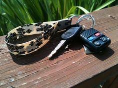 Duct Tape Key Wristlet