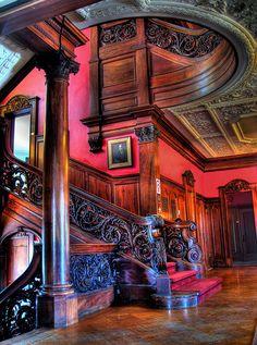 Governor henry lippitt mansion providence ri victorian - Tarrant county college interior design ...