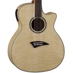 Buy Dean Exotica FM Gloss Natural Acoustic Electric Guitar EFM at ZoZoMusic.com
