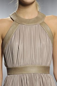 Doo.Ri Spring 2012 rtw This is my favorite shade of neutral. Do those exist?