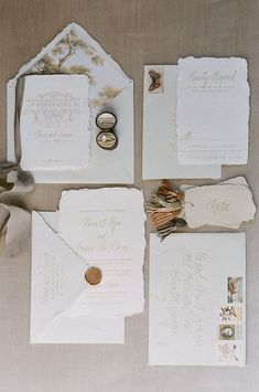 Custom design invitation suites by Ink & Press Co. Handmade paper invitations with calligraphy and vintage stamps for the modern romantic bride. Romantic Wedding Stationery, Wedding Stationery Inspiration, Spring Wedding Invitations, Printable Wedding Invitations, Custom Invitations, Wedding Stationary, Wedding Inspiration, Wedding Paper, Wedding Cards
