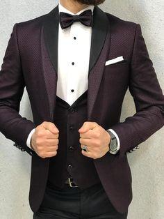 men s suits for women Slim Fit Tuxedo, Tuxedo Suit, Tuxedo For Men, Classy Suits, Cool Suits, Wedding Men, Wedding Suits, Tuxedo Wedding, Wedding Ideas