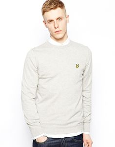 Time to look great with this  Lyle & Scott Jumper with Crew - Grey - http://www.fashionshop.net.au/shop/asos/lyle-scott-jumper-with-crew-grey/ #ClothingAccessories, #Crew, #Grey, #Jumper, #Knitwear, #Lyle, #LyleScottVintage, #Male, #Mens, #MensCardigans, #Scott, #With #fashion #fashionshop