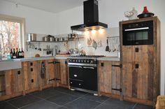 Landelijke keuken RestyleXL - keuken ideeën | UW-keuken.nl #sloophout #keukens