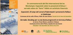 """El blog de P.S.: Go!: Exposició sobre la prevenció d'allaus i xerrada sobre els """"bons"""" hàbits en activitats hivernals"""