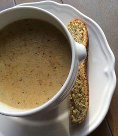 Receptenblog: Franse mosterdsoep Kijk voor recept op: http://ikkookook73.blogspot.nl/2015/01/franse-mosterdsoep.html