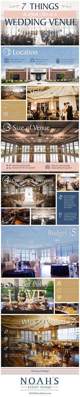 NOAH'S Event Venue | www.NOAHSWeddings.com | NOAH'S Weddings Blog | 7 Things to Look For in a Wedding Venue
