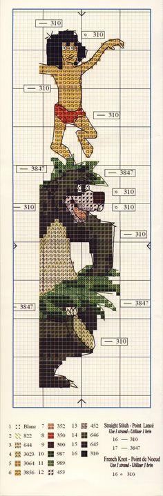 jungle book bookmark