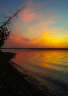 Sunset over Puget Sound - Gig Harbor, Washington