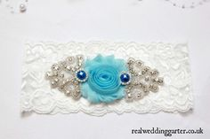 Check out this item in my Etsy shop https://www.etsy.com/uk/listing/252714125/wedding-garter-sky-blue-handmade-vintage