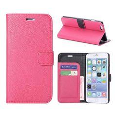iPhone 6 Plus Case - M-Zebra Deluxe High Quality PU Leather Wallet Flip Case Cov #Zebra