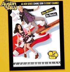 Laura Marano as Ally Dawson & Ross Lynch as Austin Moon