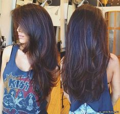 haircut long layers