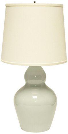 $150 master?  Haeger Potteries Double Gourd Mist Ceramic Table Lamp -