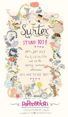 love print studio blog: Paper & Cloth at Surtex...