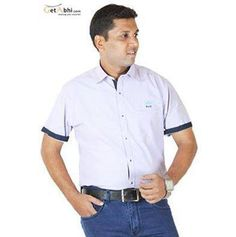 http://tinyurl.com/kxwel5q A neat, Unique look awaits you on the other side of wearing this Checks Blue colored #Casual #shirt from IGNU. It features a designer collar, Slim Fit, Linen Fabric, Pair This Shirt With Chinos And Loafers. Cash on Delivery + Free Shipping