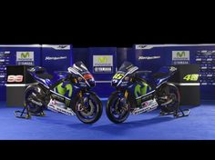 Valentino Rossi and Jorge Lorenzo's 2015 movistar Yamaha's Excited for the season to start now!
