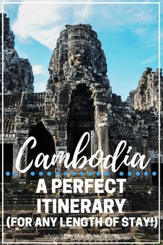 An amazing itinerary for your Cambodia adventure, for any length of stay. Cambodia is one of my favorite countries in Southeast Asia to backpack with, and this itinerary will tell you why | Cambodia itinerary | Backpacking Cambodia | Cambodia travel tips
