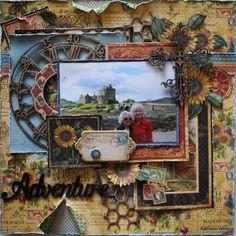 """Adventure"" - Kathleen White-Creative Embellishments"