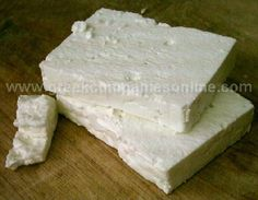 Feta is so simple to learn to make yourself! Stop buying feta cheese and start making it at home for a fraction of the cost. Bonus, feta is traditionally a raw cheese, for you health enthusiasts. Types Of Cheese, Meat And Cheese, Wine Cheese, Goat Cheese, Charcuterie, Colby, Cheese Cultures, Queso Fresco, Homemade Cheese