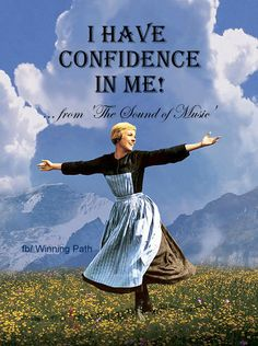 """Julie Andrews in """"The Sound Of Music"""" - a classic. One of my favorite movies~ Julie Andrews, Sound Of Music Movie, 10 Film, I Love Cinema, Iconic Dresses, Music Photo, Great Movies, Movies Showing, Movie Tv"""