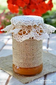 Sárgabaracklekvár - másképp Ketchup, Jelly, Diy And Crafts, Jar, Traditional, Food, Tin Cans, Bottles, Jars