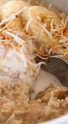 Instant Pot Creamy Coconut Steel Cut Oats