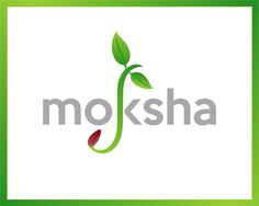 moksha Logo design - Fantastic logo for organic food related business.<br /><br />Moksha meaning liberation in sanscrit language. Price $500.00