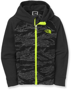 The North Face Male Glacier Full-Zip Hoodie - Toddler Boys'