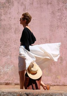 Dior wardrobe from The Bigger Splash
