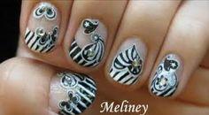 Wedding manicure nails