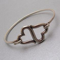 James Avery Heart to Heart Sterling Bracelet