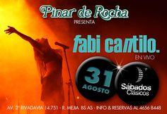 Sábado 31/08/2013 - FABIANA CANTILO - Pinar de Rocha #TodoPasaxPinar