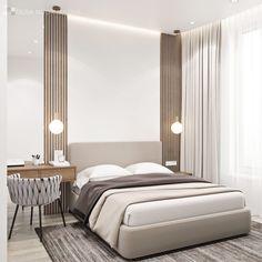Small Room Bedroom, Master Bedroom, Bedroom Decor, Modern Bedroom Design, Home Interior Design, Cute Room Ideas, Minimalist Bedroom, Fashion Room, Small Apartments