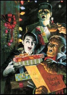 Monster Christmas! Because Monster like Christmas too.