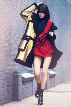 Karol Santos by Justin Borbely for Glamour UK