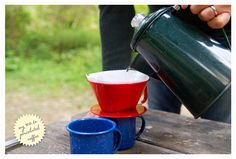 That's a good idea - easy camping coffee