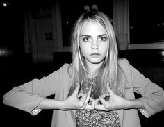 Cara Delavingne | has worked for burberry and asos her older sister poppy delevigne