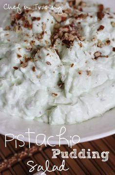 Pistachio Pudding Salad!
