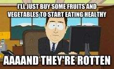 When your effort is wasted: | 23 Pictures That Perfectly Sum Up Attempting To Be Healthy