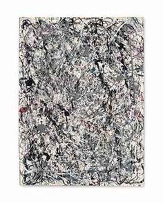 "Jackson Pollock's ""Number 19, 1948."""
